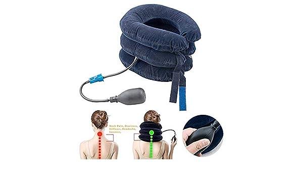 Cervical Cuello Tracción Aparato, Vinmax Hinchable Cuello ...