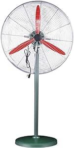 ZYFA Pedestal Fan, Oscillating Stand Fan for Home, Office and Industrial,Floor Fan,3-Speed Control