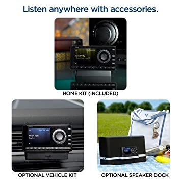 XM XDNX1H1 Onyx Dock-and-Play Radio with Home Kit DISCONTINUED BY MANUFACTURER SiriusXM