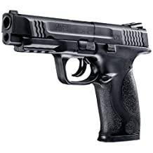 Smith & Wesson Umarex M and P 45 2255060 BB/Pellet 370fps Air Pistol, 0.177 Caliber, Black