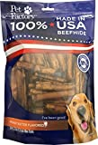 Pet Factory 78144 Beefhide | Dog Chews, 99% Digestive, Rawhides To Keep Dogs Busy While Enjoying, 100% Natural, Peanut Butter Flavored Mini Rolls, Pack Of 35 In 3-3.5'' Size, Made In USA