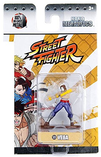 Street Fighter Vega (SF11) 1.5 Inch Diecast Nano Metal Figure by Jada