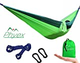 There are several key benefits and features of this hammock. DESIGNED AND MADE FOR AND BY OUTDOORSMAN: Phyex is a company by and for outdoorsman, we manufacture outdoors products and know what outdoorsman want. IT'S HARD TO FIND A LOWER PRICE FOR SUC...