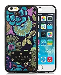 Unique And Durable Designed Case With Kate Spade 190 Black For iPhone 6 4.7 Inch TPU Phone Case