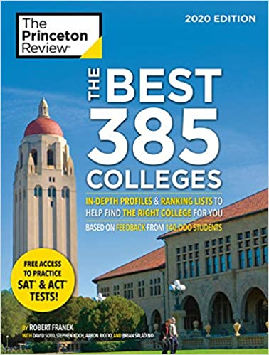 Best Photos Of 2020.Amazon Com The Best 385 Colleges 2020 Edition In Depth