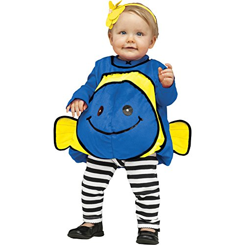 Giddy Fish Toddler Costume Blue - Toddler Small