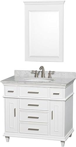 Wyndham Collection Berkeley 36 inch Single Bathroom Vanity