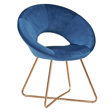 Astonishing Amazon Com Chair Modern Nordic Style Fabric Chairs Slipper Ibusinesslaw Wood Chair Design Ideas Ibusinesslaworg