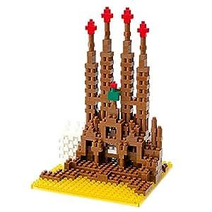 Nanoblock Architecture NBH-005 - Sagrada Familia