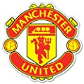 "Manchester United FC UEFA Champions Sticker Decal 4"" x 4"""