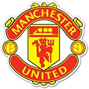 """Manchester United FC UEFA Champions Sticker Decal 4"""""""