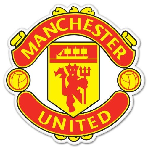 Manchester United FC UEFA Champions Sticker Decal 4