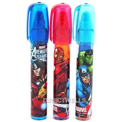 Marvel Avengers Eraser Lipstick Style - 2 ERASERS (RANDOMLY)