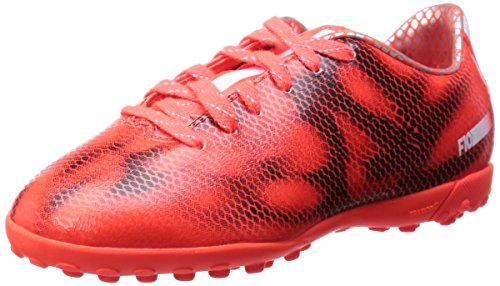 Adidas F10 Tf Junior Voetbalschoenen, Oranje / Zwart, Us5.5