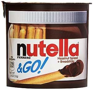 Nutella & Go,1.8 oz, 24 Count