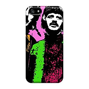 Perfect Hard Phone Cases For Apple Iphone 5/5s With Support Your Personal Customized Attractive The Beatles Skin AlissaDubois