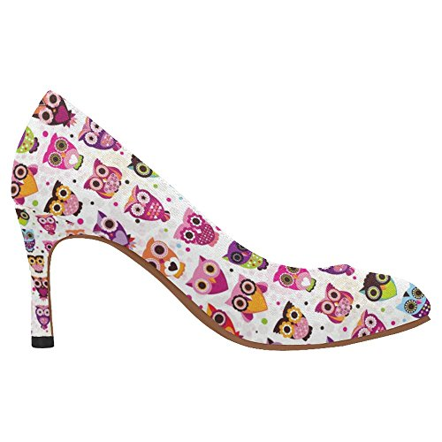 InterestPrint Womens Fashion High Heel Dress Pump Shoes Multi 4 vOGmB0mV