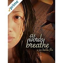 as words breathe