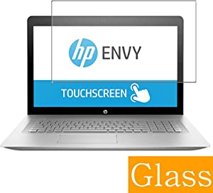 """Synvy Tempered Glass Screen Protector for HP Envy 17-u200 / u273cl / u275cl / u292cl 17.3"""" Visible Area Protective Screen Film Protectors 9H Anti-Scratch Bubble Free"""