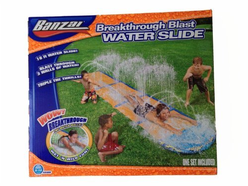 Spring & Summer Toys Banzai 16ft-Long Breakthrough Blast Wat