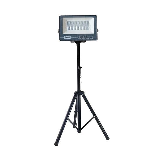 H-XH Proyector LED con Soporte For Trípode, 50W/100W/200W/300W ...