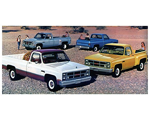 1984-gmc-sierra-c1500-c3500-pickup-trucks-factory-photo