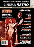 Cinema Retro Issue #25 Hammer Horror Films James Bond London Lawrence of Arabia Italian Crime Films Premiere Oliver Reed Burt Lancaster