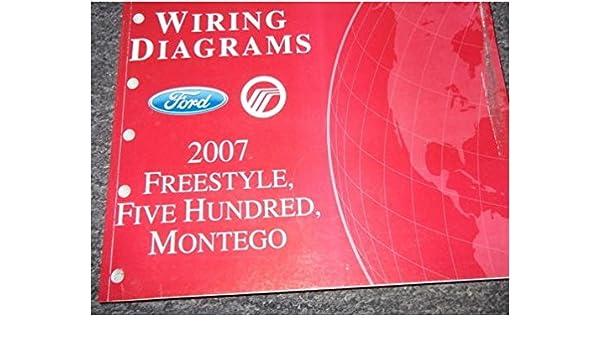 07 ford freestar fuse diagram 2007 ford freestyle montego ford 500 electrical wiring diagram  ford 500 electrical wiring diagram