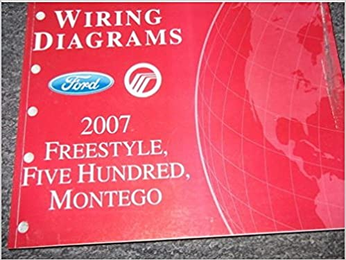 2007 ford freestyle montego ford 500 electrical wiring diagram manual ewd  oem: ford: amazon com: books