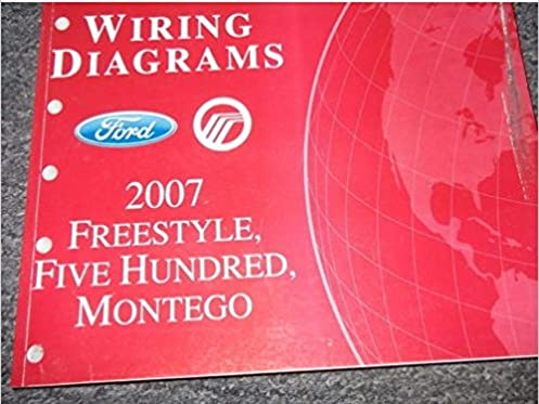 2007 ford freestyle montego ford 500 electrical wiring diagram f350 wiring diagrams 2007 ford freestyle montego ford 500 electrical wiring diagram manual ewd oem ford amazon com books