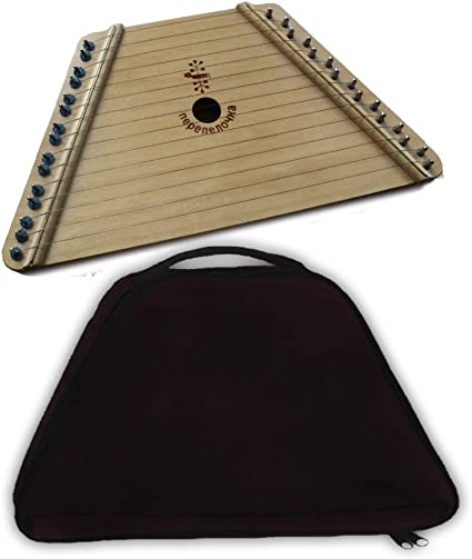 This is a picture of Impertinent Free Printable Lap Harp Music Cards