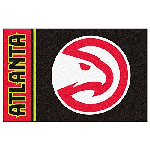 FANMATS 17903 NBA Atlanta Hawks Uniform Inspired Starter Rug