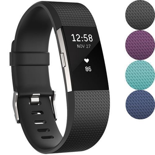 Fitbit Charge 2 Heart Rate + Fitness Wristband by #Fitness