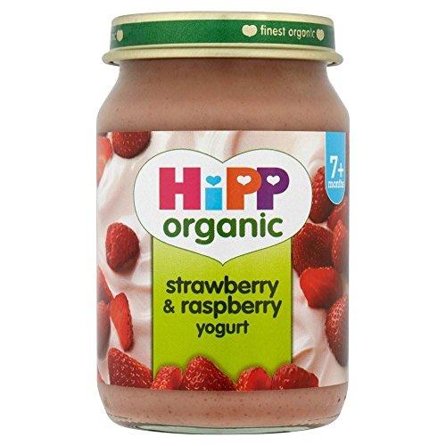 Hipp Organic Strawberry & Raspberry Yogurt 7mth+ (160g)