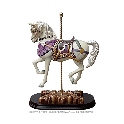 The House of Kronemann Limited Edition Carousel Horse, Fontaine Piaffe - All Styles Available