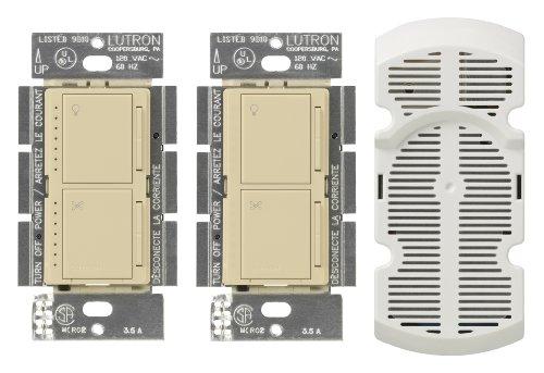 Lutron MA-LFQ3-IV Maestro Multi-Location Fan Control Kit, Ivory by Lutron (Image #2)