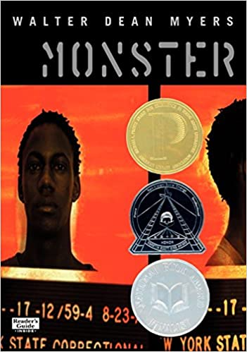 Cover of Walter Dean Myers' MONSTER