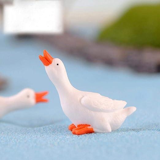 Cute Mini Resin Miniature Fairy Garden Micro Landscape Home Garden Duck
