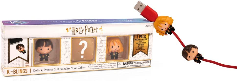 Wow! Stuff Collection- Harry Potter K-Bling-3 Pack Protector de ...