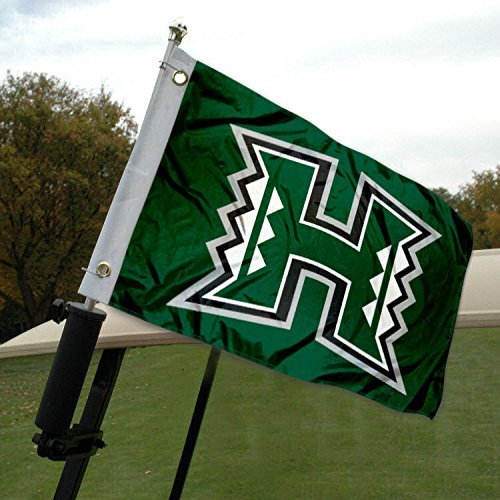 University of Hawaii Golf Cart and Boat Flag by College Flags and Banners Co.
