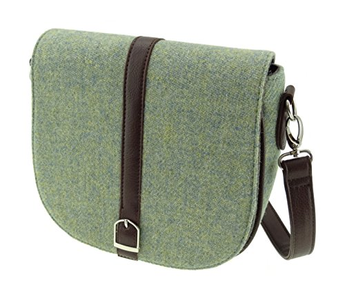Harris Ladies Col57 Green Bags LB1000 Shoulder Tweed Yellow Authentic rTWqwEUr