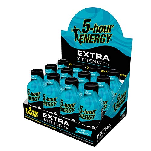 Extra Strength 5-hour ENERGY Shots – Blue Raspberry – 24 Count by 5-hour ENERGY (Image #4)