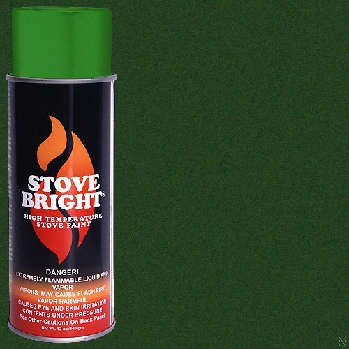high temperature paint green - 5