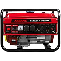 Gerador de Energia a Gasolina 3 kVA Monofásico partida manual 110/220v - NG3000