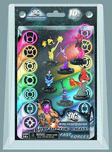 WizKids DC HeroClix: DC 75th Anniversary - War of Light Fast Forces Pack