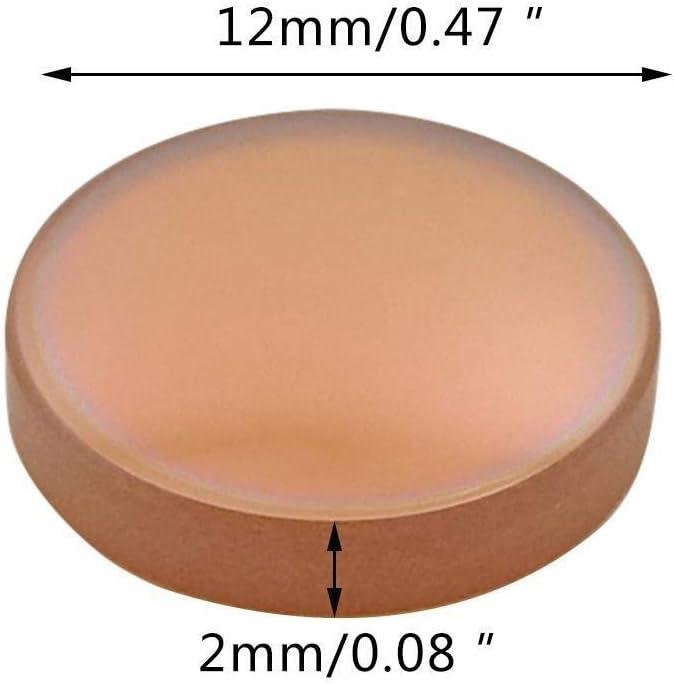 Nologo WYX-JGJP, Lente de Enfoque de Selenide de Zinc 12F50.8 for Grabador de Lente de Enfoque láser CO2 / cortadora de Grabado