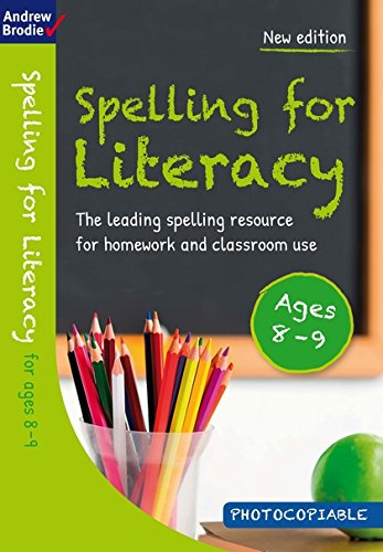 Read Online Spelling for Literacy for ages 8-9 ebook
