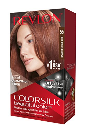 Revlon Colorsilk Haircolor, Light Reddish Brown, 20 Ounces (Pack of