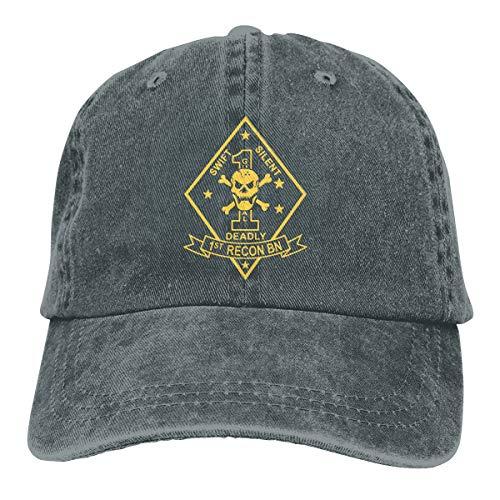 1st Recon Battalion Adjustable Dad Hats Baseball Caps Trucker Hats Deep -