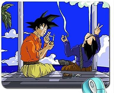 Vegeta fumar marihuana Goku Dragon Ball Z Mouse Pad Computer ...